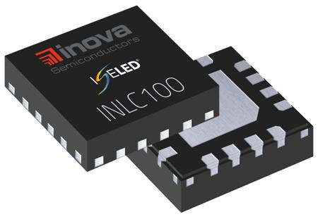 Интеллектуальный драйвер INCL100 от Inova – основа «умных» светодиодов