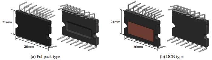 Внешний вид корпусов CIPOS™ Mini IPM
