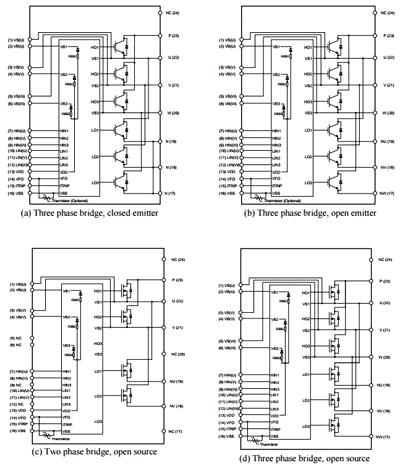 Внутренняя структура модулей CIPOS ™ Mini