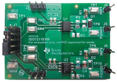 Оценочный комплект ISO1211EVM