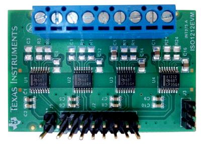 Оценочный модуль 8-канального приемника цифровых сигналов ISO1212EVM
