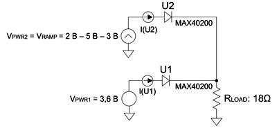 Схема стенда для снятия статической характеристики