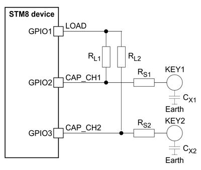 Подключение сенсорных кнопок
