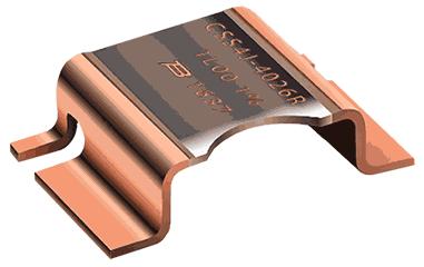 Шунтовые резисторы Bourns CSS4 для поверхностного монтажа используют четырехконтактное соединение Кельвина для максимальной точности измерения тока.