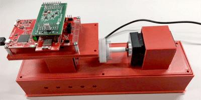 Тестовый макет для опорного решения датчика уровня вибраций
