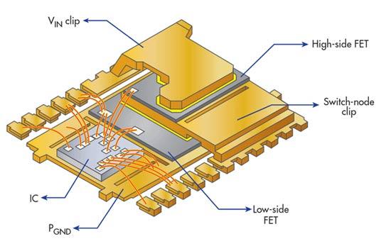 3D-корпус PowerStack 3D объединяет МОП-транзисторы и модуль управления