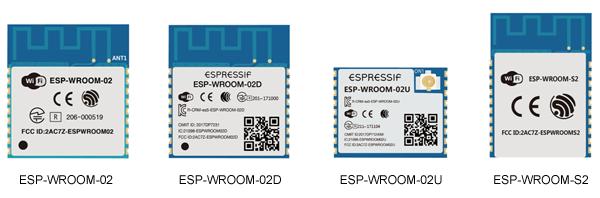 Внешний вид Wi-Fi-модулей на базе микросхемы ESP8266