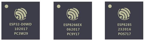 Беспроводные микросхемы Espressif Systems поставляются в корпусном исполнении QFN 5×5 мм или QFN 6×6 мм