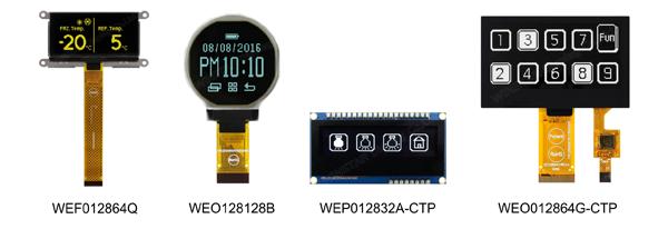 Winstar предлагает графические дисплеи различных форм и размеров