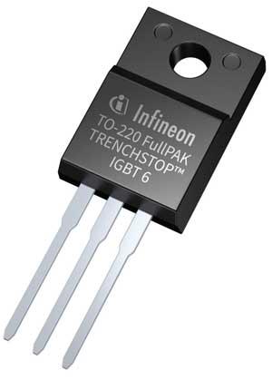 IGBT Infineon 650-V имеет малые габариты и при этом обеспечивает высокие эффективность и плотность мощности