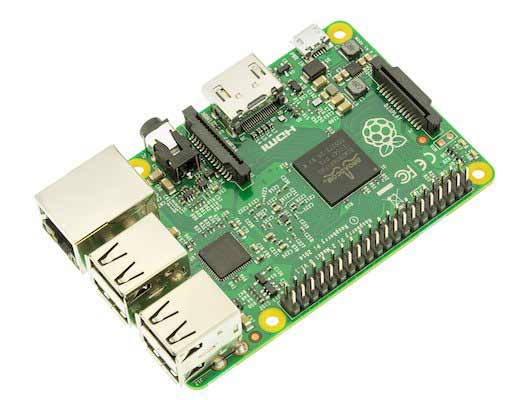 Внешний вид Raspberry Pi