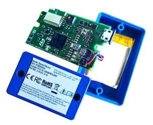 Внешний вид модуля SensorTile.box с интегрированным Arm Cortex-M4 и датчиками