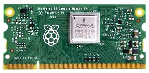 Внешний вид модуля Raspberry Pi версии CM3+