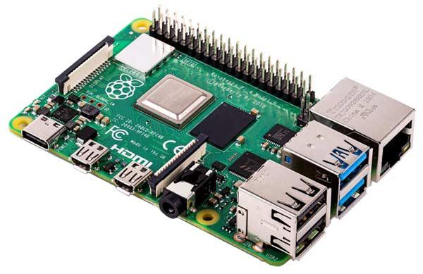Raspberry Pi Model 4 B - новейшая модель компьютера на базе четырехъядерного процессора Arm Cortex-A72