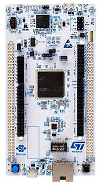 Плата Nucleo для одного из микроконтроллеров STM32H7
