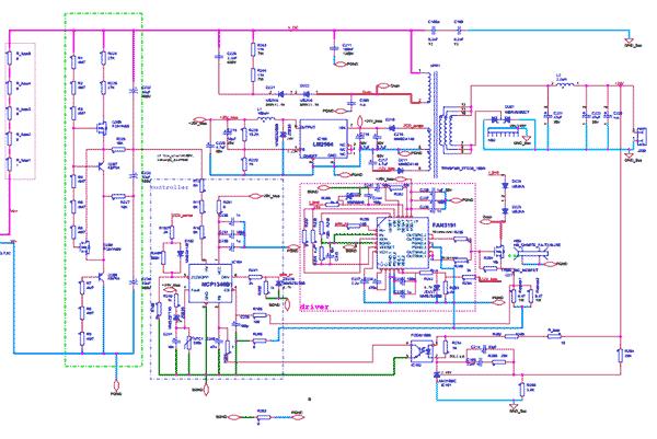 Квазирезонансный обратноходовой преобразователь 1000 / 24 В, 100 Вт, 400 кГц