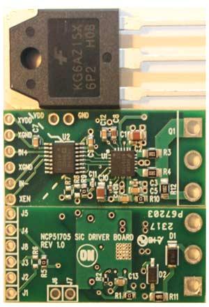 Плата NCP5170 Mini EVB – вид сверху и снизу (35 мм х 15 мм)