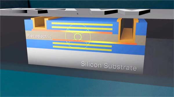 Пьезоэлектрический резонатор на объемных акустических волнах (ОАВ или BAW) – это тонкопленочный резонатор, похожий на традиционный кварцевый кристалл