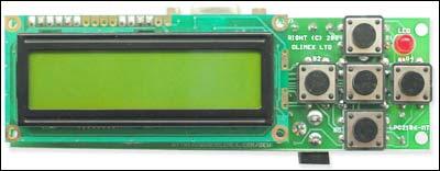 Отладочная плата для микроконтроллеров LPC2106