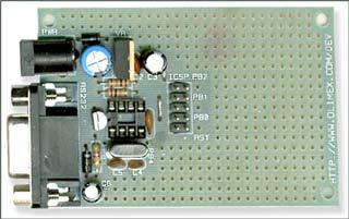 Плата AVR-P8B-10MHz