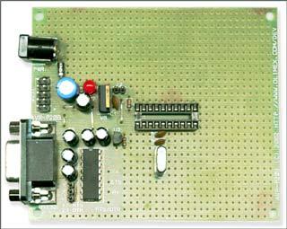 Плата для макетирования AVR-P20B-10MHz