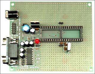 Плата для макетирования AVR-P40B-8535-8 MHz