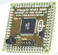 Макетная плата AVR-H128 для микроконтроллера ATmega128