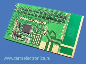 Модуль для передачи данных на частоте 2,4 ГГц ATR2406-DEV-BOARD