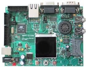 SAM7-EX256 - отладочная плата  для микроконтроллера AT91SAM7X256 ARM7TDMI-S фирмы OLIMEX