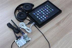 Пример подключения к одноплатным компьютерам ODROID-U3 c ОС Android