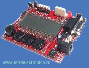 PIC-LCD – отладочная плата на базе микроконтроллера PIC18F8490 от MICROCHIP и ЖК-индикатора