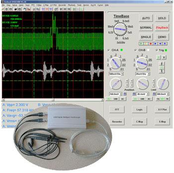 DSO2300 – 2-канальный портативный цифровой USB-осциллограф от Embest