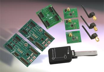 DK-EM2-2520Z – набор разработчика для беспроводных сетей ZigBee 2,4ГГц компании Texas Instruments