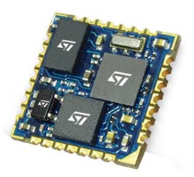 INEMO-M1 – самая маленькая 9-осевая система-на-плате семейства модулей iNEMO