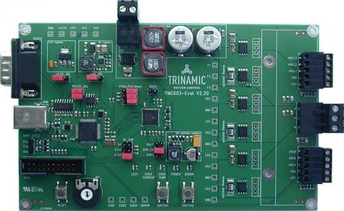 TMC603-EVAL – макетная плата драйвера трехфазного BLDC двигателя TMC603.