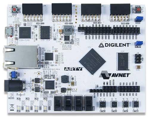 Отладочная платформа 410-319 Arty на основе XILINX Artix-7™ FPGA