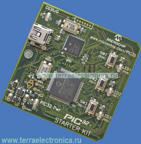 DM320001 PBF – отладочная плата типа starter kit