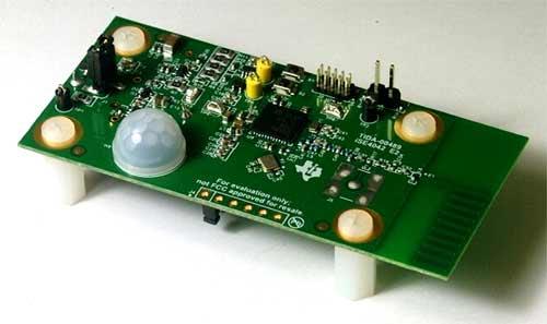 Отладочная плата PIR детектора TIDA-00489