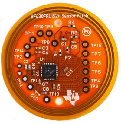 Оценочная плата TIDM-RF430-TEMPSENSE