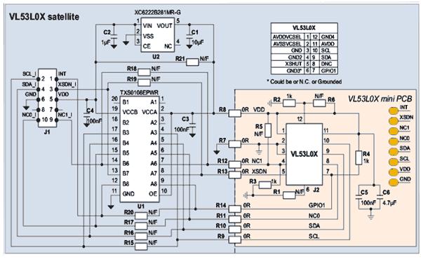 Схема принципиальная электрическая платы 43L0-SATEL-I1