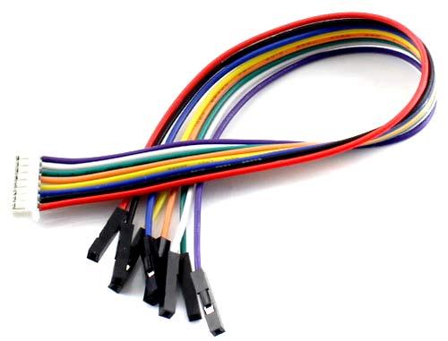 Коммутационный кабель PH2.0 20 cm 8 Pin из комплекта поставки
