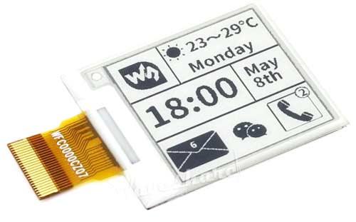 Дисплей 1.54inch e-Paper