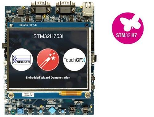 Оценочная плата STM32H753I-EVAL