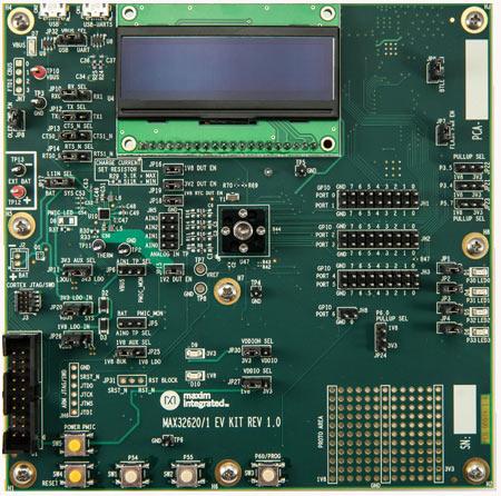 Оценочная плата набора MAX32621-EVKIT#