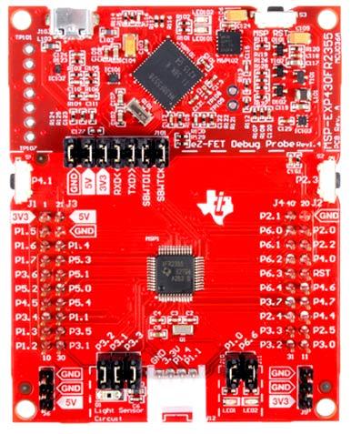Отладочная плата MSP-EXP430FR2355