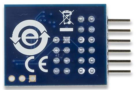 Модуль PmodACL. Вид снизу