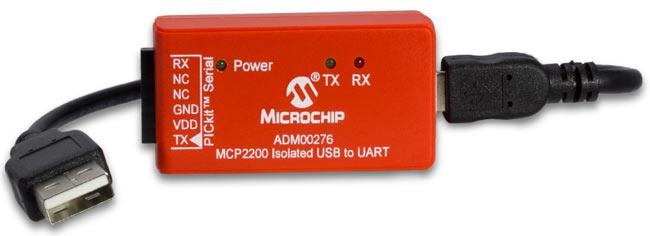 Изолированный USB-UART преобразователь ADM00276