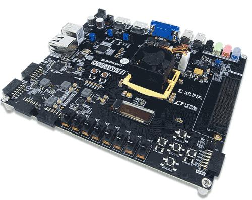 Отладочная плата GENESYS 2 Kintex-7 FPGA. Общий вид