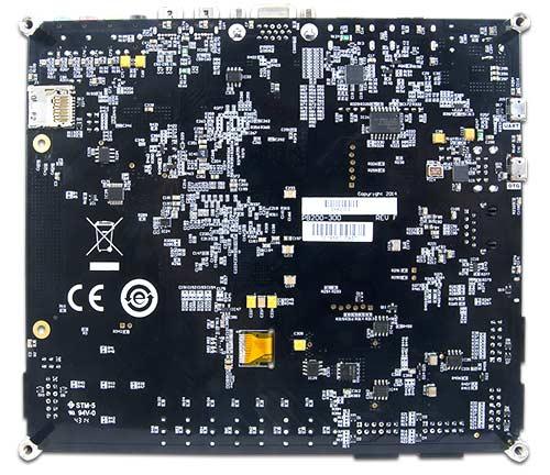 Отладочная плата GENESYS 2 Kintex-7 FPGA. Вид снизу