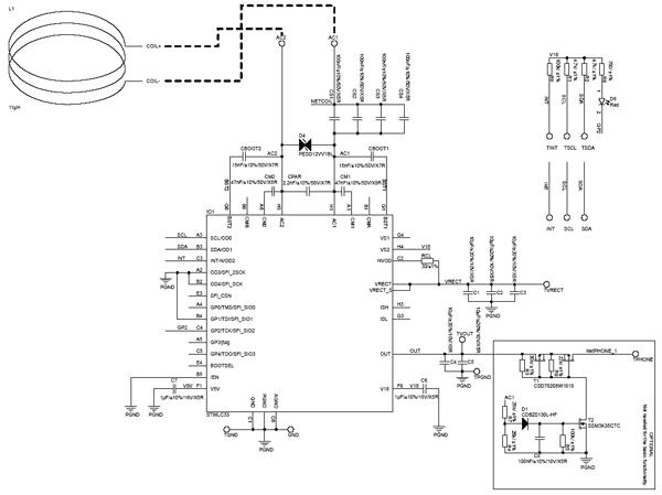 Схема принципиальная электрическая STEVAL-ISB043V1